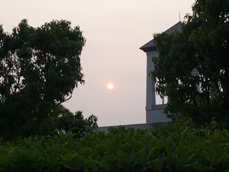 今朝の空1