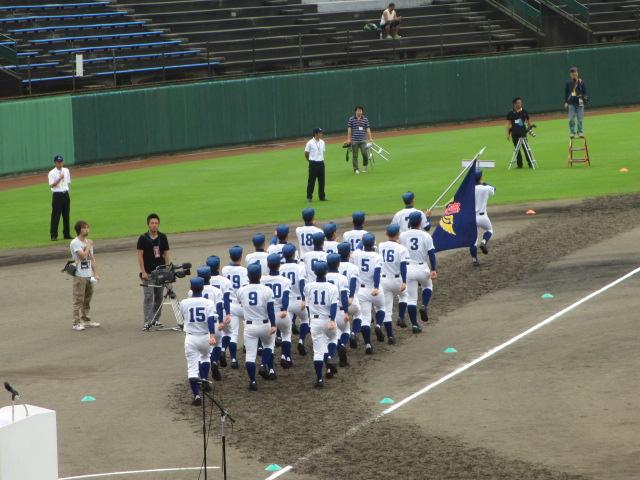 高校野球開会式 016
