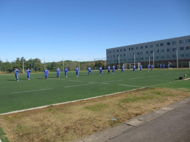 2012.11.25  サッカー部トレーニングマッチ 対小松大谷 004