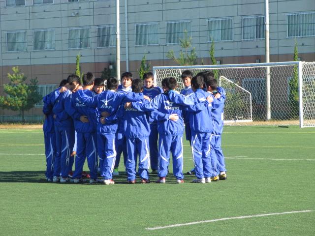 2012.11.25  サッカー部トレーニングマッチ 対小松大谷 001