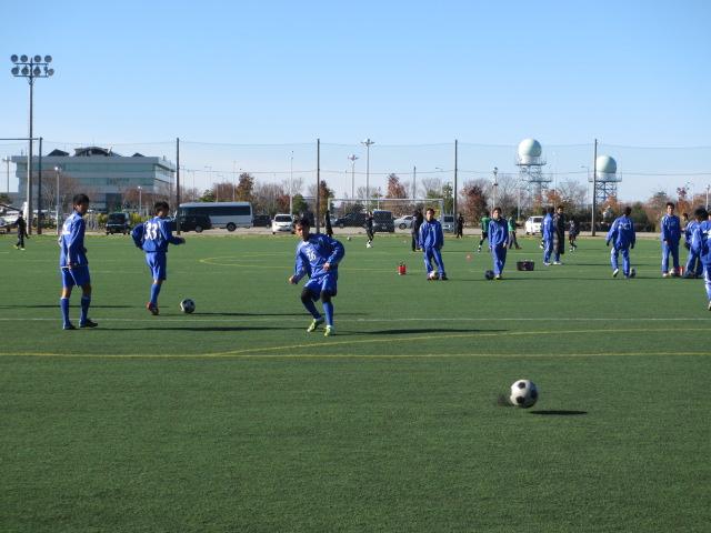 2012.11.25  サッカー部トレーニングマッチ 対小松大谷 010