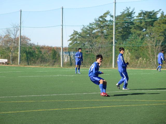 2012.11.25  サッカー部トレーニングマッチ 対小松大谷 018
