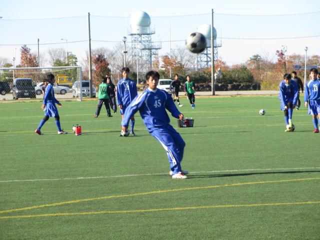 2012.11.25  サッカー部トレーニングマッチ 対小松大谷 017