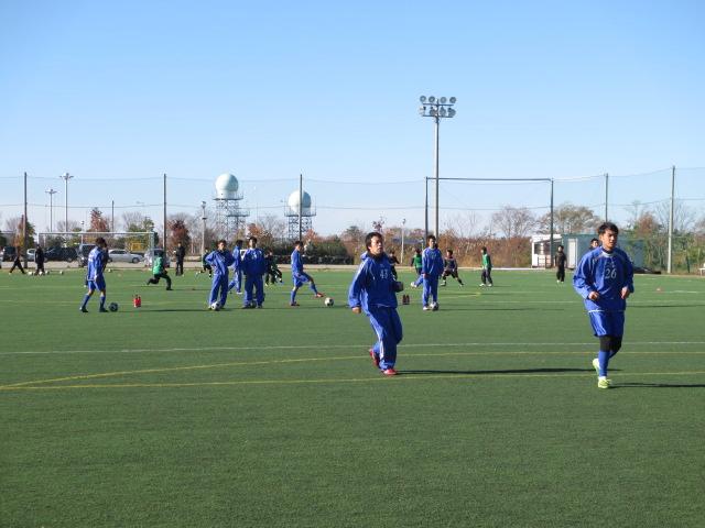 2012.11.25  サッカー部トレーニングマッチ 対小松大谷 013