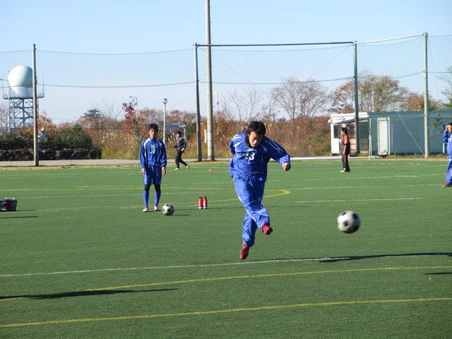 2012.11.25  サッカー部トレーニングマッチ 対小松大谷 023
