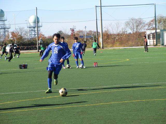 2012.11.25  サッカー部トレーニングマッチ 対小松大谷 020