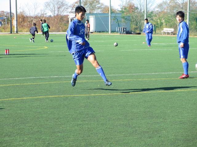 2012.11.25  サッカー部トレーニングマッチ 対小松大谷 019