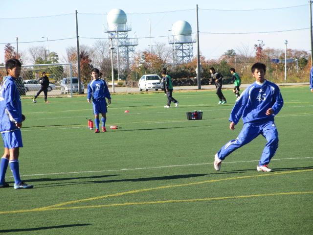 2012.11.25  サッカー部トレーニングマッチ 対小松大谷 029