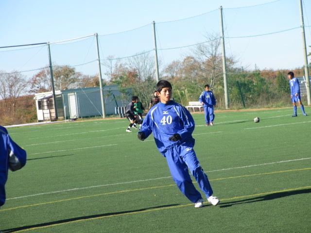 2012.11.25  サッカー部トレーニングマッチ 対小松大谷 028