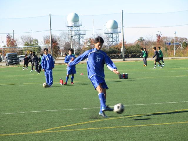 2012.11.25  サッカー部トレーニングマッチ 対小松大谷 027