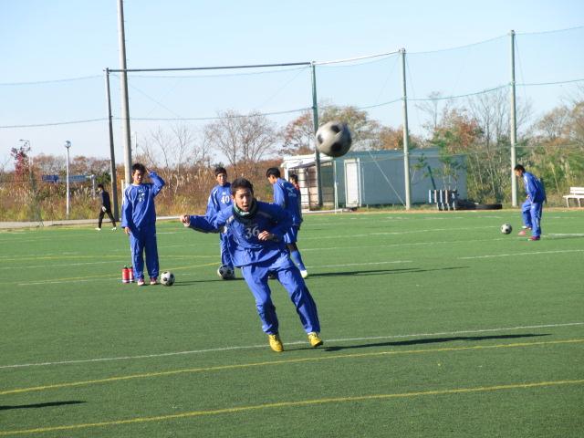 2012.11.25  サッカー部トレーニングマッチ 対小松大谷 025
