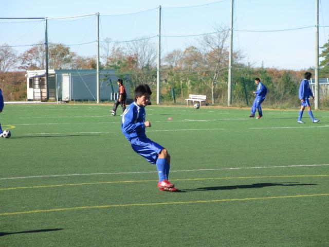 2012.11.25  サッカー部トレーニングマッチ 対小松大谷 031