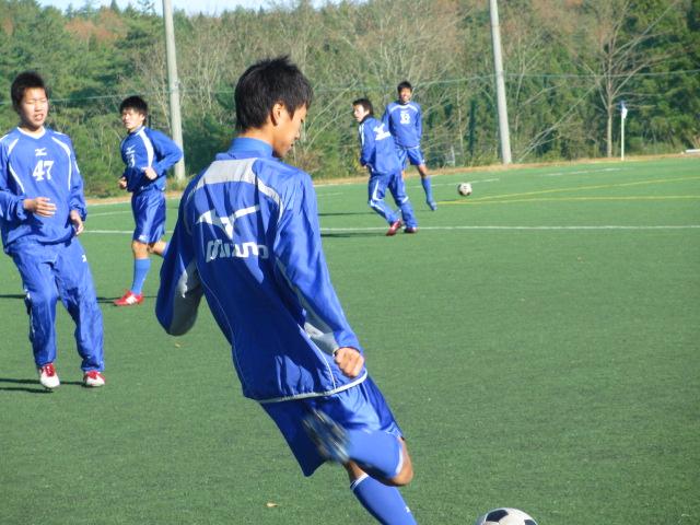 2012.11.25  サッカー部トレーニングマッチ 対小松大谷 046
