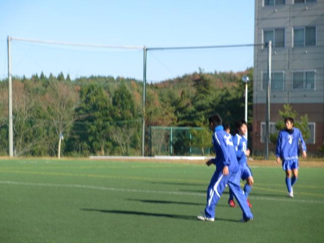 2012.11.25  サッカー部トレーニングマッチ 対小松大谷 049