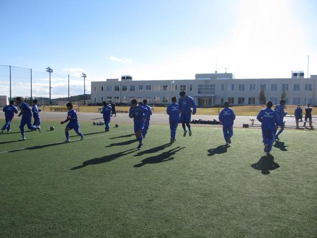 2012.11.25  サッカー部トレーニングマッチ 対小松大谷 060