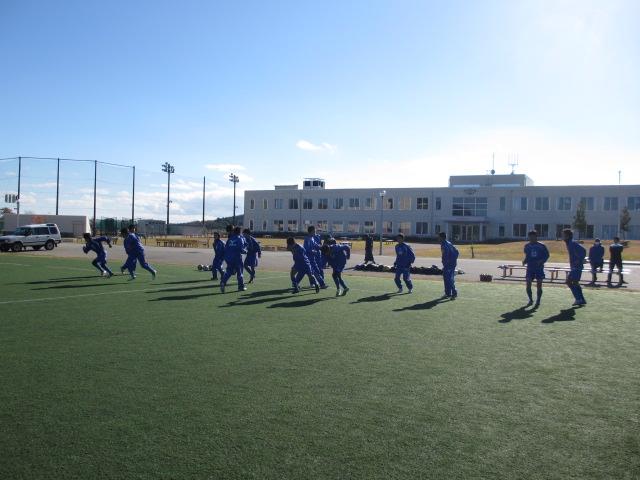 2012.11.25  サッカー部トレーニングマッチ 対小松大谷 059
