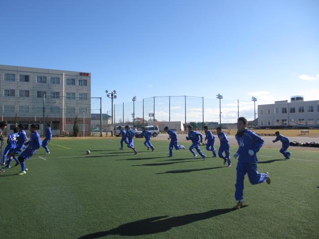 2012.11.25  サッカー部トレーニングマッチ 対小松大谷 058