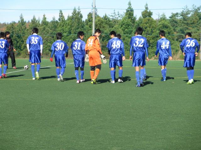 2012.11.25  サッカー部トレーニングマッチ 対小松大谷 064