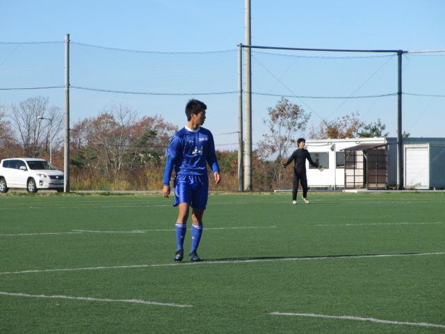 2012.11.25  サッカー部トレーニングマッチ 対小松大谷 072