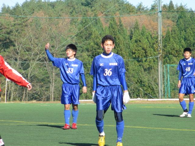 2012.11.25  サッカー部トレーニングマッチ 対小松大谷 082