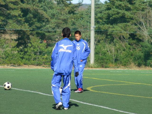 2012.11.25  サッカー部トレーニングマッチ 対小松大谷 093