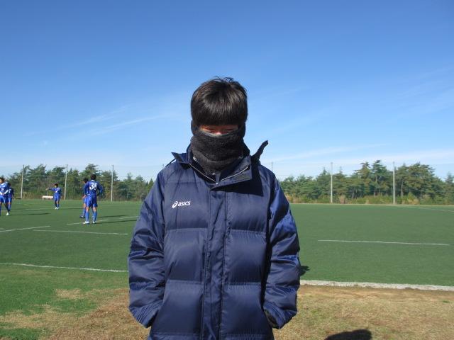 2012.11.25  サッカー部トレーニングマッチ 対小松大谷 091
