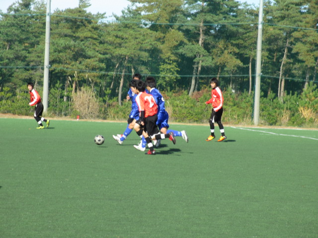 2012.11.25  サッカー部トレーニングマッチ 対小松大谷 107