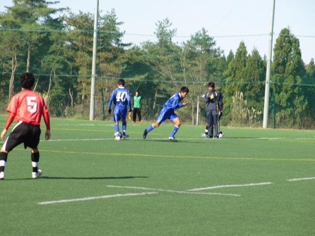 2012.11.25  サッカー部トレーニングマッチ 対小松大谷 106
