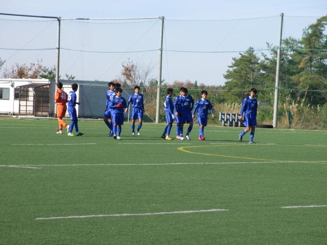 2012.11.25  サッカー部トレーニングマッチ 対小松大谷 105