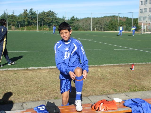 2012.11.25  サッカー部トレーニングマッチ 対小松大谷 103
