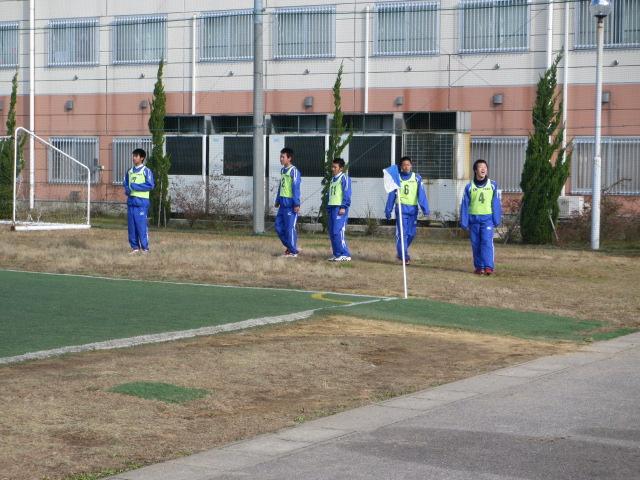 2012.11.25  サッカー部トレーニングマッチ 対小松大谷 115