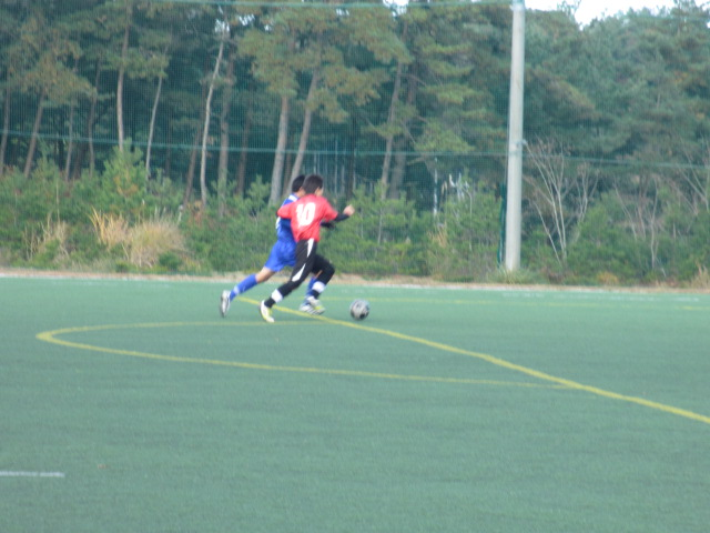 2012.11.25  サッカー部トレーニングマッチ 対小松大谷 113