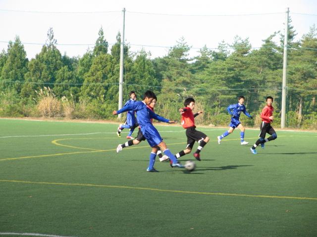 2012.11.25  サッカー部トレーニングマッチ 対小松大谷 119