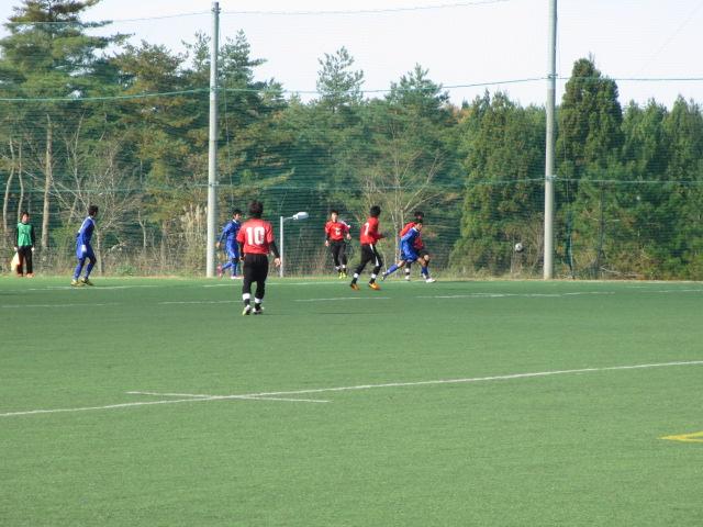 2012.11.25  サッカー部トレーニングマッチ 対小松大谷 118