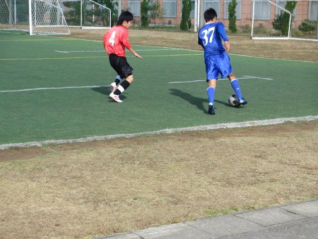 2012.11.25  サッカー部トレーニングマッチ 対小松大谷 116