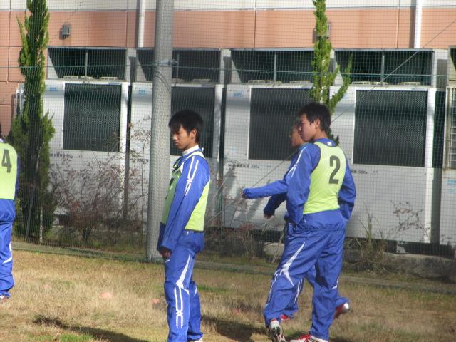 2012.11.25  サッカー部トレーニングマッチ 対小松大谷 128