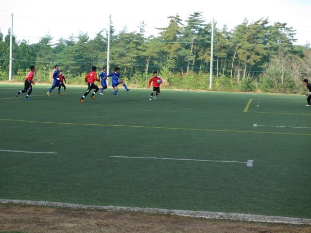2012.11.25  サッカー部トレーニングマッチ 対小松大谷 122