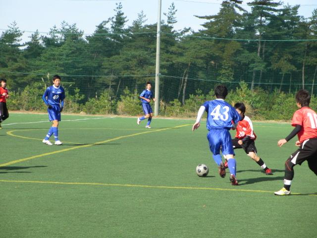 2012.11.25  サッカー部トレーニングマッチ 対小松大谷 133