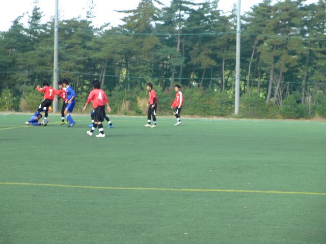 2012.11.25  サッカー部トレーニングマッチ 対小松大谷 131