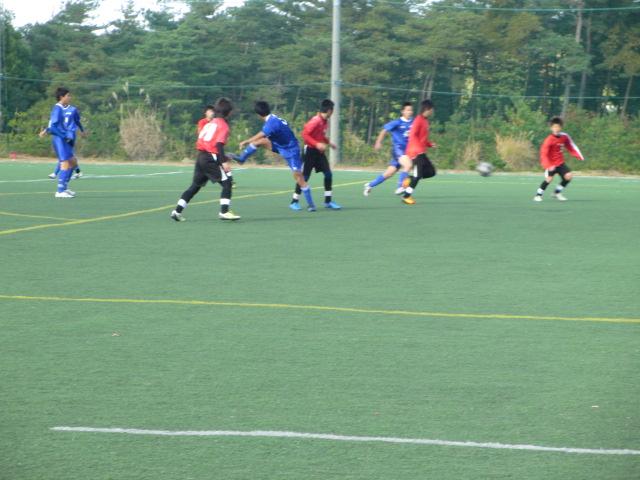 2012.11.25  サッカー部トレーニングマッチ 対小松大谷 132