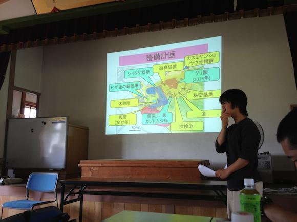 松川さんの発表