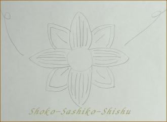 2012.07.18  下書き 傘から花