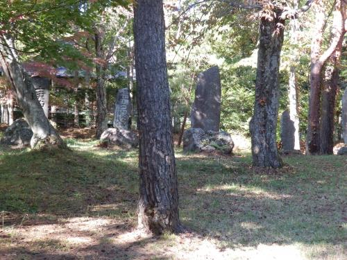 ホームズ像の空き地