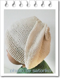 帽子:うさぎ