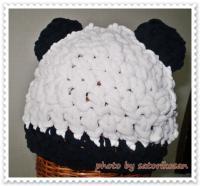 パンダ帽子2