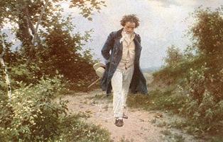 by Julius Schmid_散策するベートーヴェン