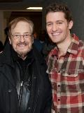Matthew Morrison with Phil Ramone