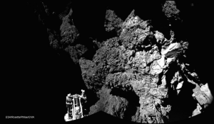 Philae Lander first photograph