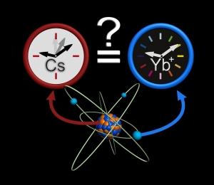 caesium and ytterbium atomic clocks