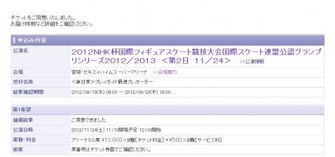 NHK杯 フィギュアスケート